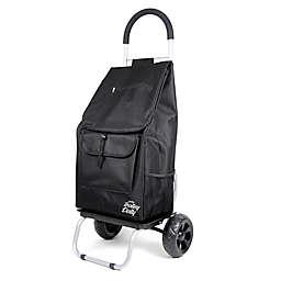Folding Trolley Dolly Cart in Black