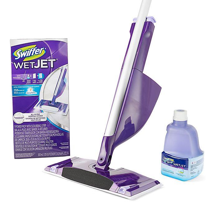 Swiffer Wetjet Mop Starter Kit Bed Bath Beyond