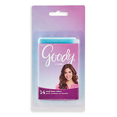 Goody® Styling Essentials 14-Count Small Foam Hair Rollers in Blue