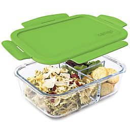 bentgo® Glass 41 oz. Portable Lunch Box in Green