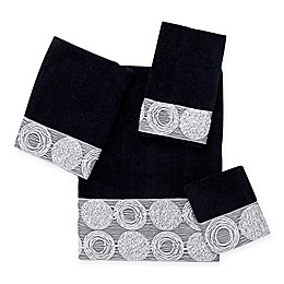 Avanti Galaxy Towel Collection in Black