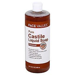 Harmon Face Values 32 oz. Pure Castile Liquid Soap