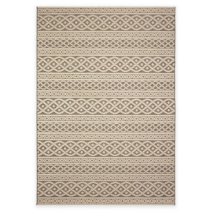 Alternate image 1 for Orian Jersey Home Collection Organic Cable Area Rug