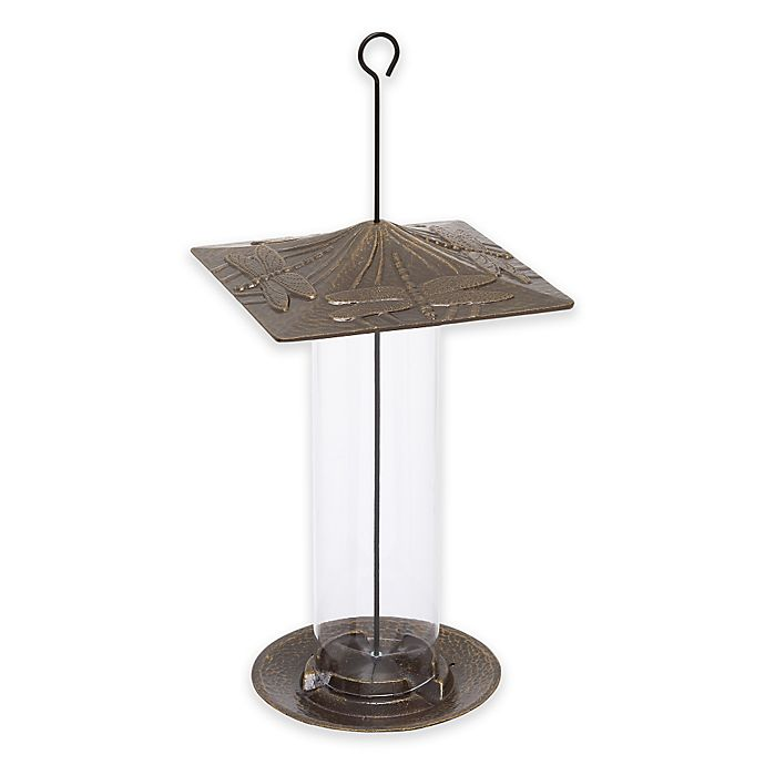 Alternate image 1 for Whitehall Products Dragonfly Tube Bird Feeder
