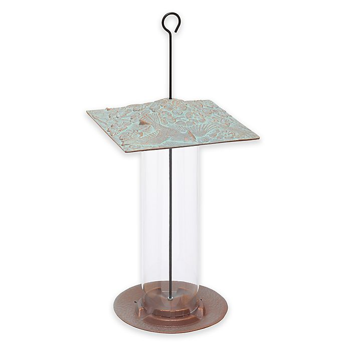 Alternate image 1 for Whitehall Products Cardinal Tube Bird Feeder