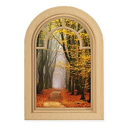 Courtside Market Contour Art Elements Autumn 16-Inch x 24-Inch Wall Decal