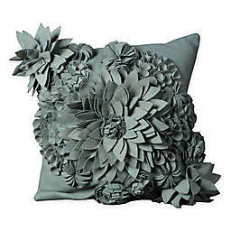 Mina Victory Flower Square Throw Pillow