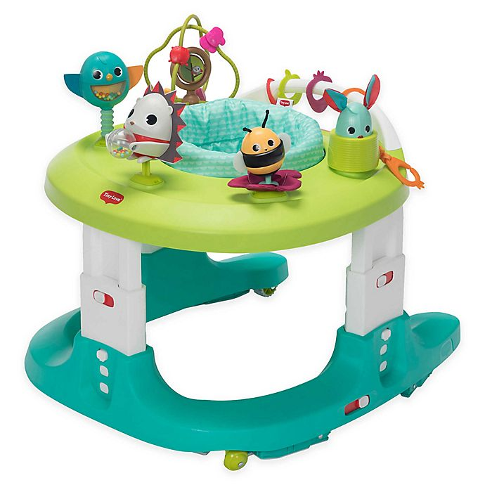 Alternate image 1 for Tiny Love® Meadow Days™ 4-in-1 Here I Grow Activity Center in Green