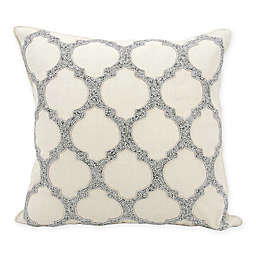 kathy ireland Home® by Nourison Lattice 20-Inch Square Throw Pillow