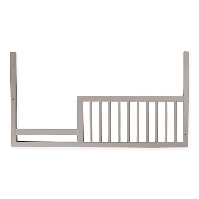 Alternate image 1 for DwellStudio® Mid-Century Toddler Guard Rail in Fog Grey