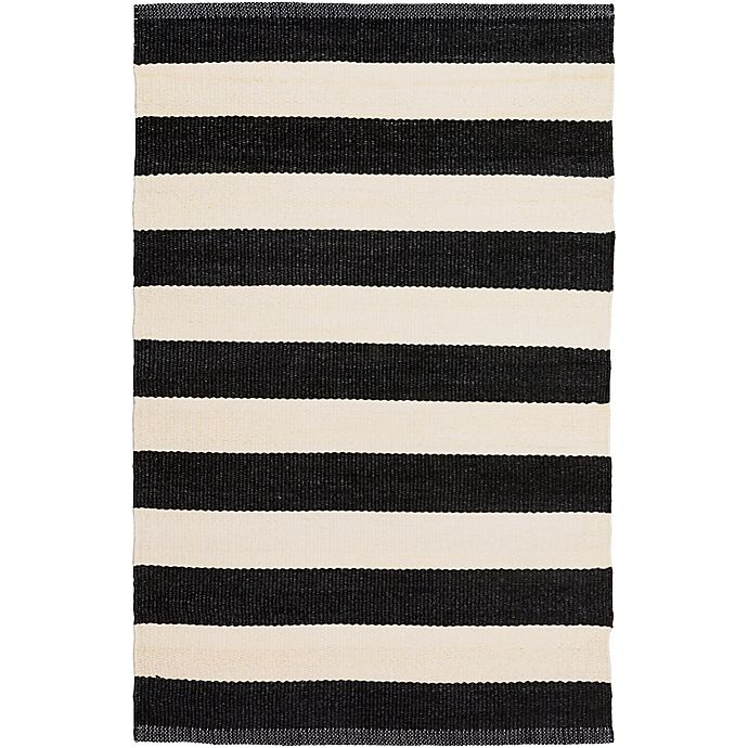 Alternate image 1 for Surya Charon Accent Rug in Black/White