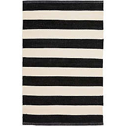 Surya Charon Accent Rug in Black/White