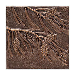 Whitehall Products Pine Cone Outdoor Metal Wall Décor