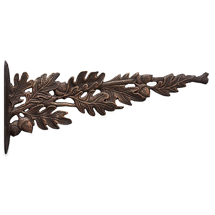 Alternate image 1 for Whitehall Products Oak Leaf Hanging Hook in Oil Rubbed Bronze