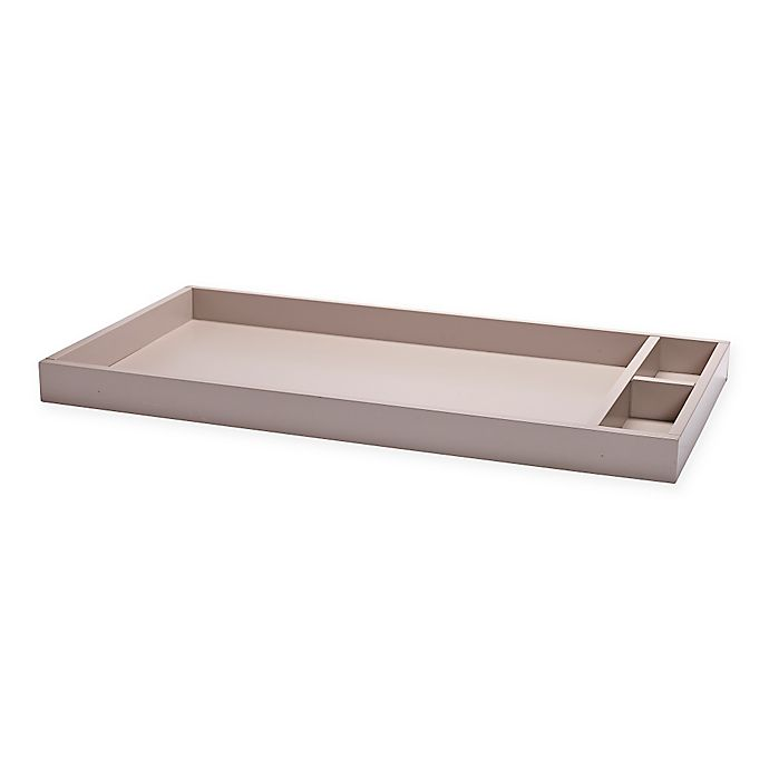 Alternate image 1 for DwellStudio® Mid-Century Changing Station in Fog Grey