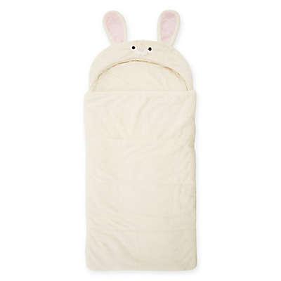 Décor Innovation Youth Faux Fur Rabbit Hood Sleeping Bag