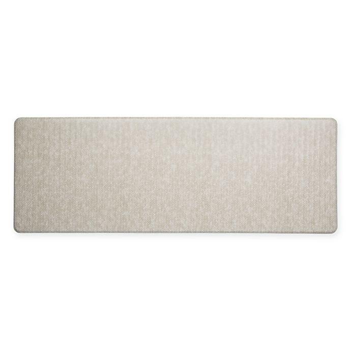 Alternate image 1 for Imprint® Cumulus9™  26-Inch x 72-Inch Chevron Series Anti-Fatigue Comfort Mat in Tan