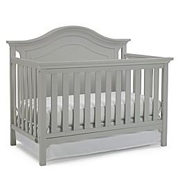 Ti Amo Catania 4-In-1 Convertible Crib in Misty Grey