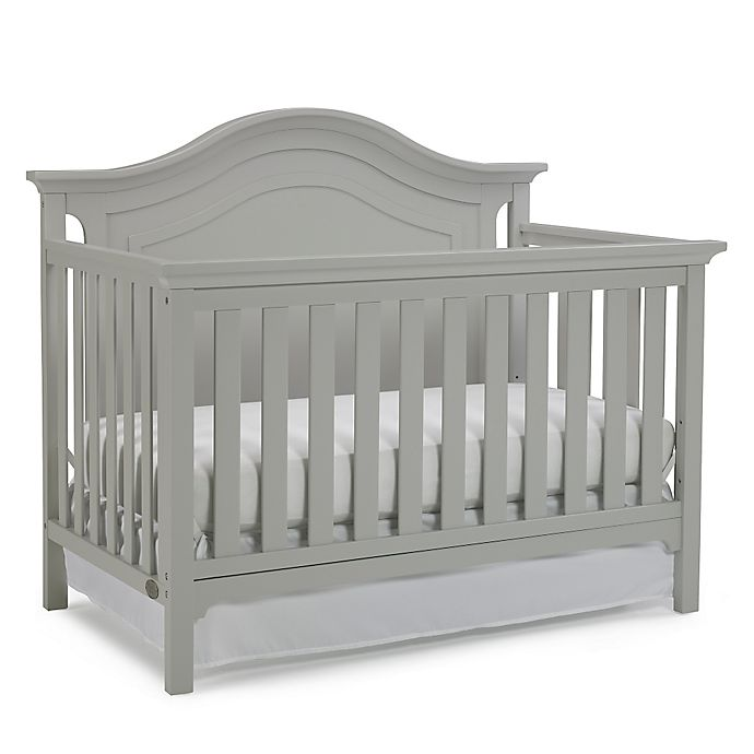 Alternate image 1 for Ti Amo Catania 4-In-1 Convertible Crib in Misty Grey