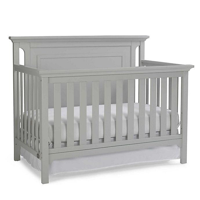 Alternate image 1 for Ti Amo Carino 4-In-1 Convertible Crib in Misty Grey