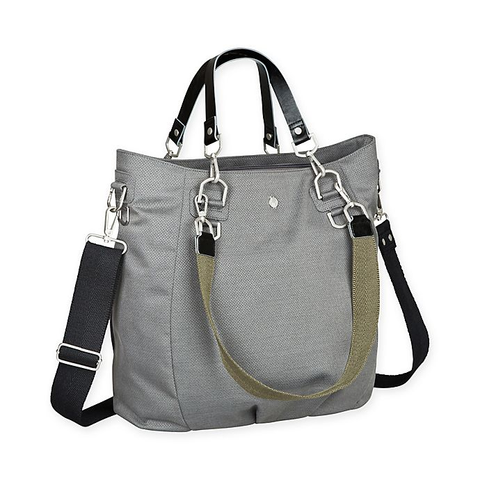 Alternate image 1 for Lassig® Green Label Mix 'N Match Diaper Bag in Anthracite