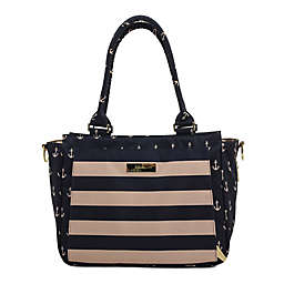 Ju Be Classy Diaper Bag In The Commodore Nautical Pattern