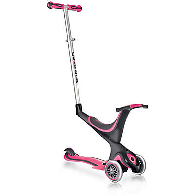 Globber Scooters 3-Wheel 5-in-1 Scooter in Pink