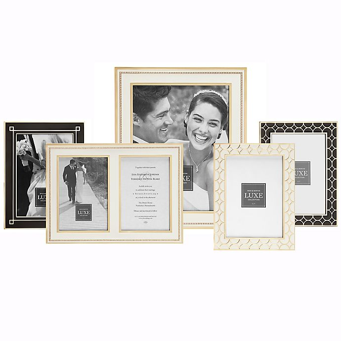 Alternate image 1 for Reed & Barton Luxe Collection Picture Frames