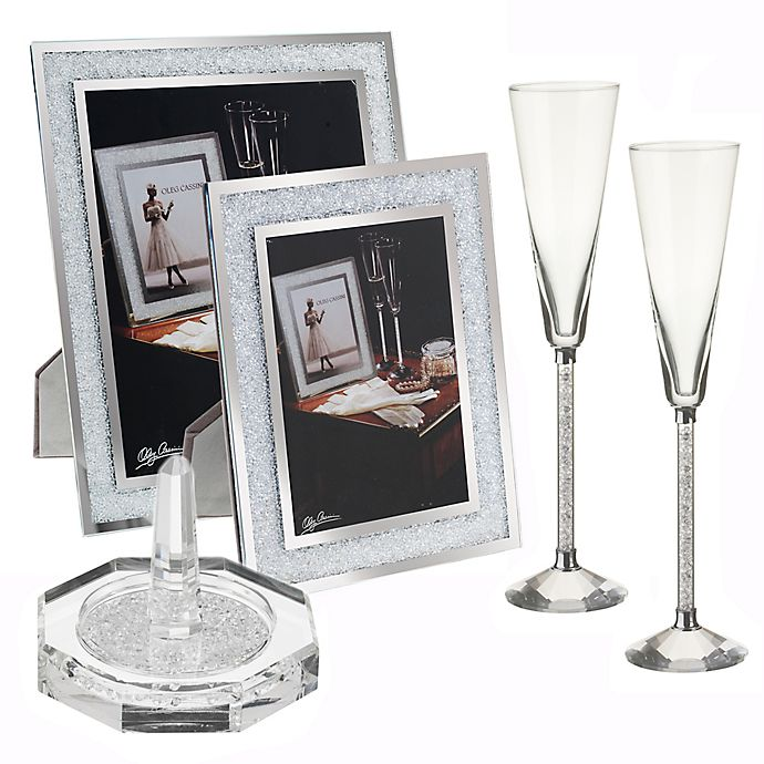 Alternate image 1 for Oleg Cassini Crystal Diamond Fine Giftware Collection