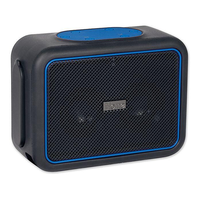 Ihome Rugged Portable Waterproof Bluetooth Stereo Speaker