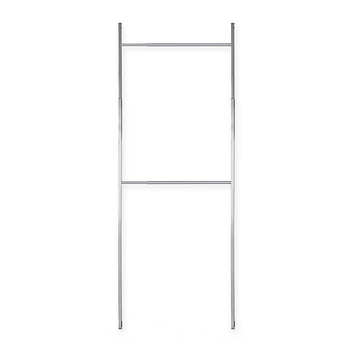 Alternate image 1 for Spacepro Flex Small Closet Organizer Kit in White/Silver