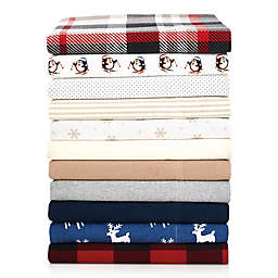 The Seasons Collection® Heavyweight Flannel Sheet Set