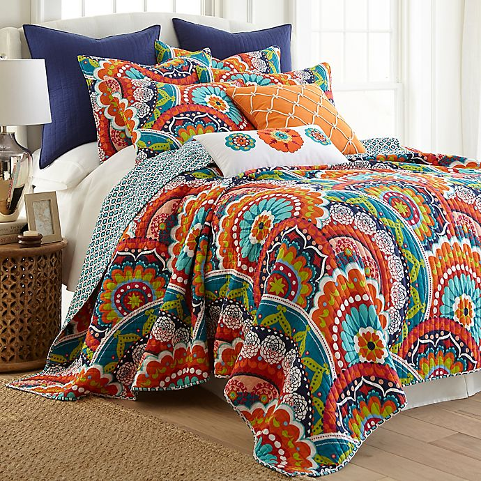 Alternate image 1 for Levtex Home Serendipity Reversible Twin Quilt Set
