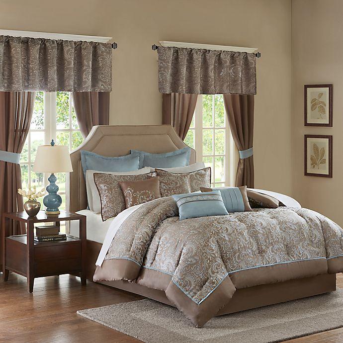 Alternate image 1 for Madison Park Essentials Brystol 24-Piece Complete Comforter Set