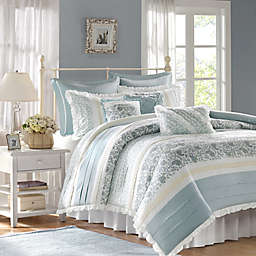Madison Park Dawn Duvet Cover Set in Blue
