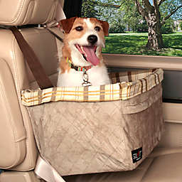 Solvit® Tagalong™ Deluxe X-Large Pet Booster Seat in Taupe Plaid