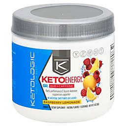 Ketologic® 2.9 oz. Raspberry Lemon BHB Plus Caffeine Powder