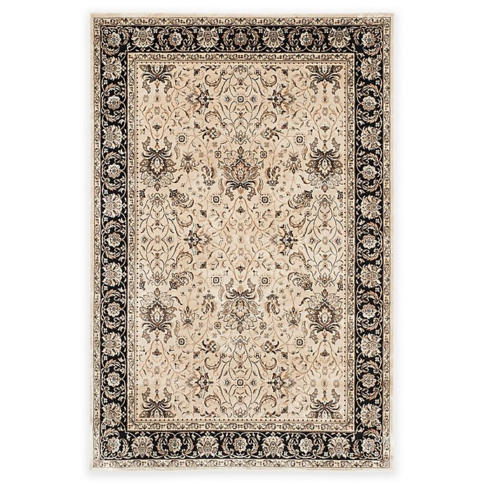 Alternate image 1 for Safavieh Persian Garden Jesper 5-Foot 1-Inch x 7-Foot 7-Inch Area Rug in Ivory/Black