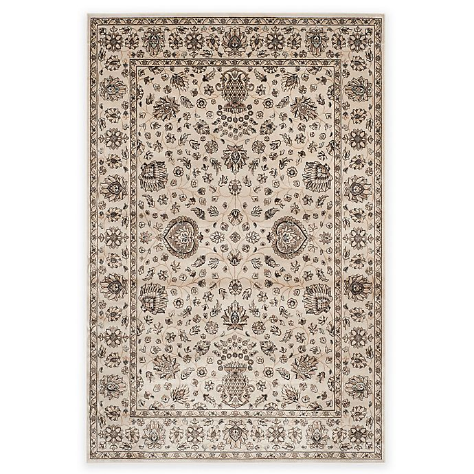 Alternate image 1 for Safavieh Persian Garden Cypress 4-Foot x 5-Foot 7-Inch Area Rug in Ivory