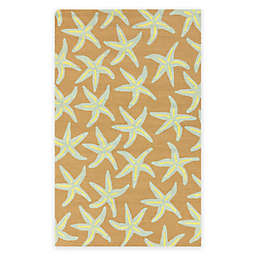 Surya Mount Tyndall 5-Foot x 8-Foot Indoor/Outdoor Area Rug in Taupe
