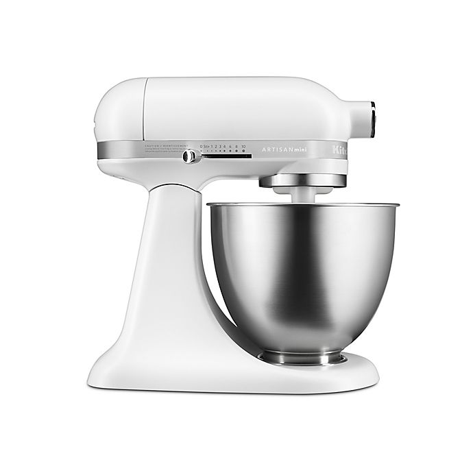 Alternate image 1 for KitchenAid® Artisan® Mini 3.5 qt. Stand Mixer in Matte White