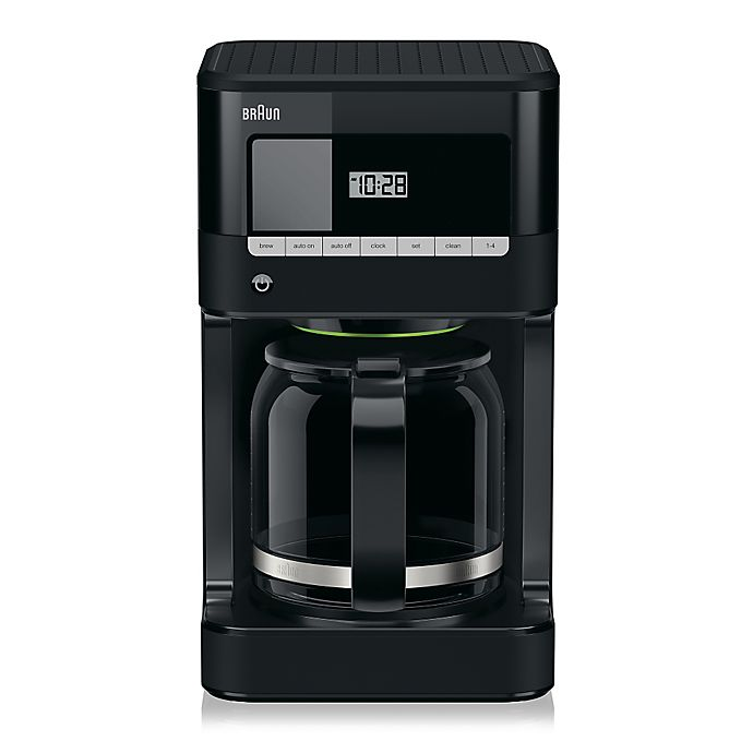 Alternate image 1 for Braun BrewSense KF7000BK 12-Cup Drip Coffee Maker with PureFlavor Brewing System