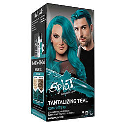 Splat® Rebellious Colors Semi-Permanent Hair Color Kit with Bleach in Tantalizing Teal