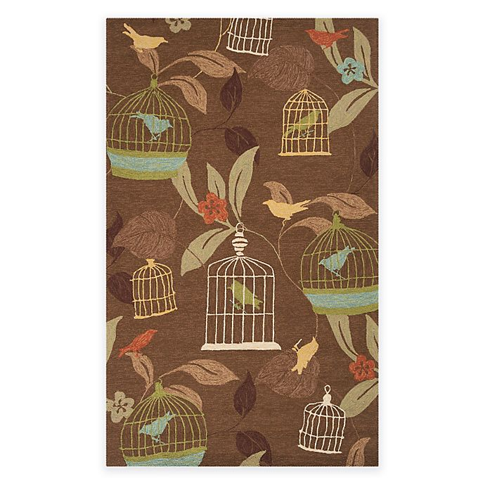 Alternate image 1 for Surya Anamudi 5-Foot x 8-Foot Indoor/Outdoor Area Rug in Taupe