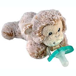 RaZbaby® RaZbuddy Monkey Pacifier Holder with Removeable JollyPop Pacifier