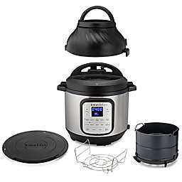 The Instant Pot® 8 qt. Duo Crisp™ + Air Fryer in Stainless Steel/Black