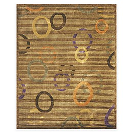 Feizy Keystone Circles 7-Foot 9-Inch x 9-Foot 9-Inch Multicolor Area Rug