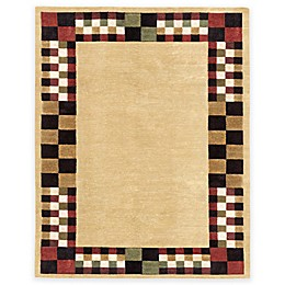 Feizy Keystone Checkerboard 5-Foot 6-Inch x 8-Foot 6-Inch Multicolor Area Rug