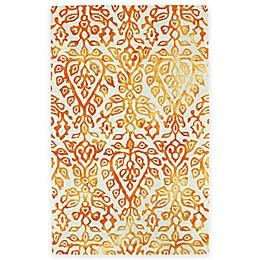 Feizy Billingsley Spade 5-Foot x 8-Foot Area Rug in Orange