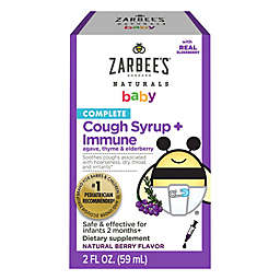 Zarbee's® 2 oz. Complete Cough Syrup + Immune Supplement in Natural Berry Flavor